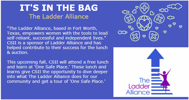 CSII is a sponsor of The Ladder Alliance
